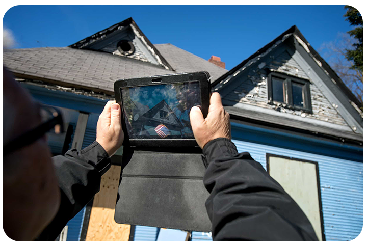 property code enforcement on tablet