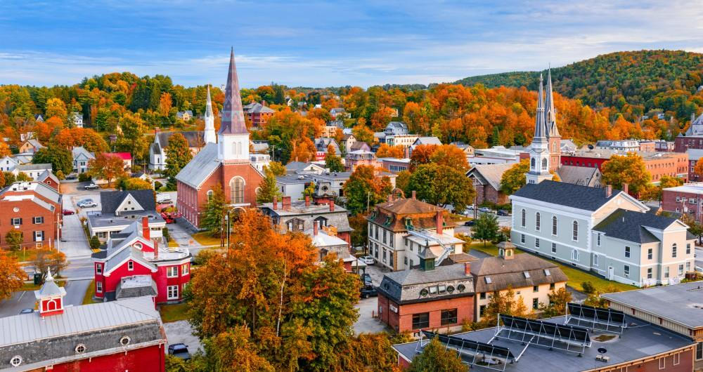City view of Vermont