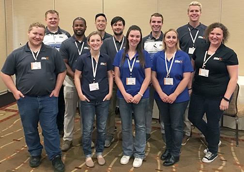 Sales team at iWorQ