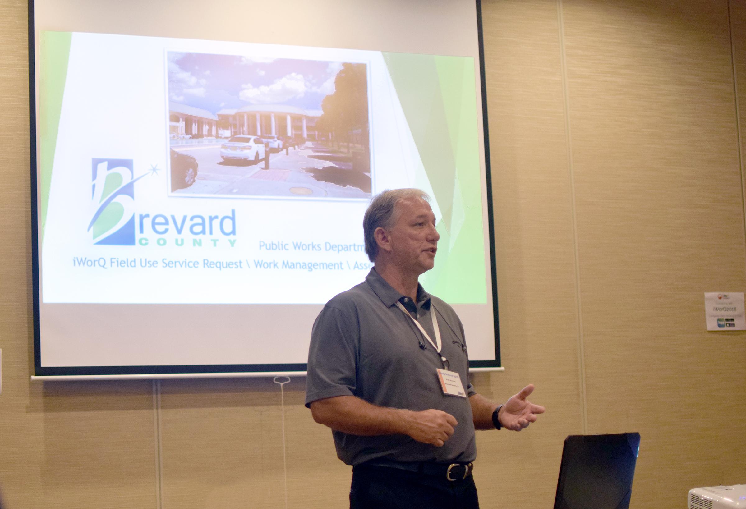 Brevard County presenting