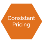 Consistant pricing