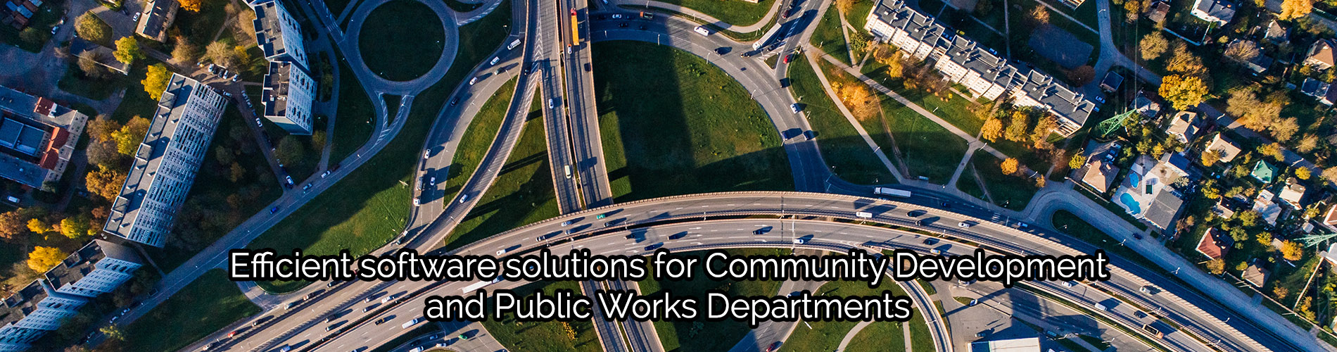 Efficient software solutions for community development and public works departments