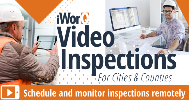 Schedule and monitor inspections remotly