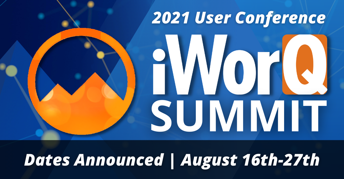 2021 iWorQ User Conference