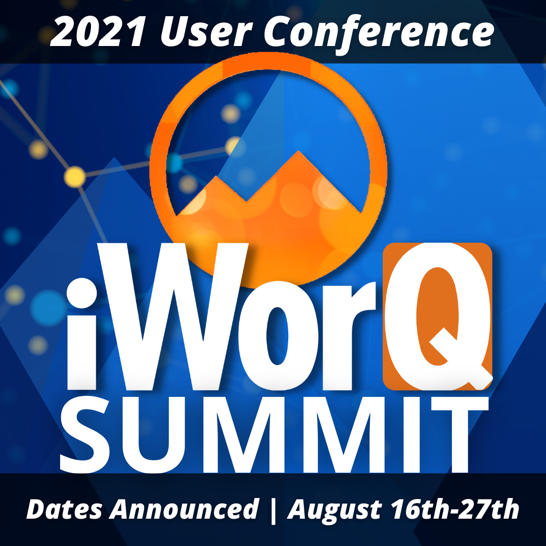 iWorQ 2021 User Conference Announced