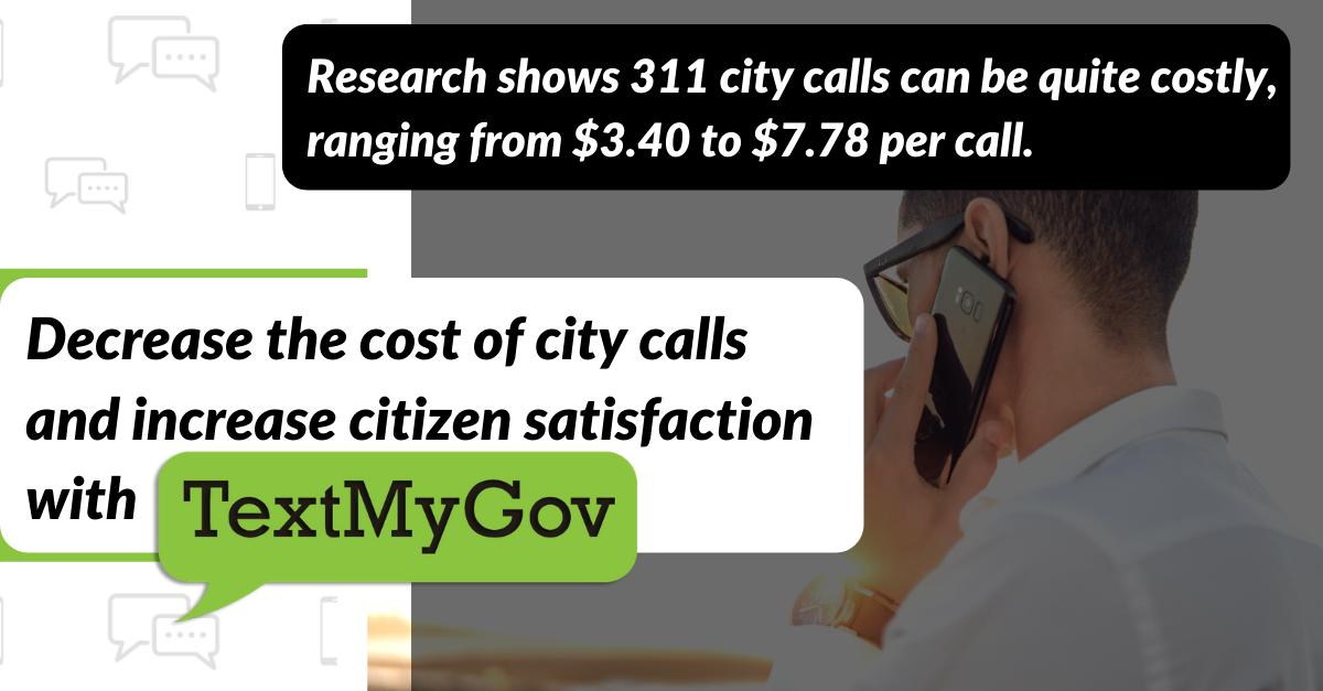 Cost-Effective Alternative to 311 programs.